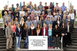 22nd JCNS Laboratory Course Neutron Scattering